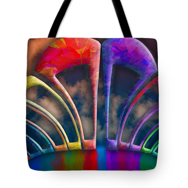 Rainbow Hill Tote Bag