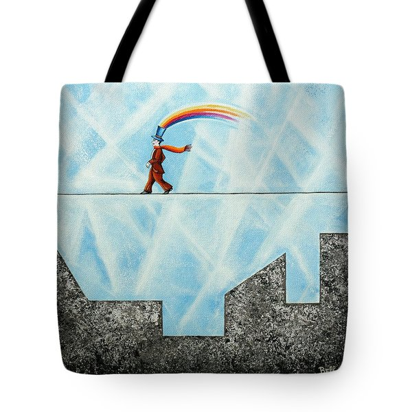 Rainbow Man Tote Bag
