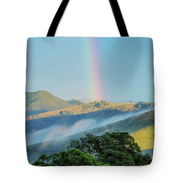 Tote Bag featuring the photograph Rainbow Mountain by Az Jackson