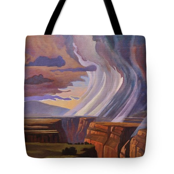 Rainbow Of Rain Tote Bag