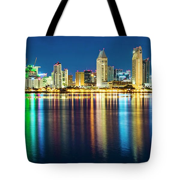 Rainbow On The Water Tote Bag