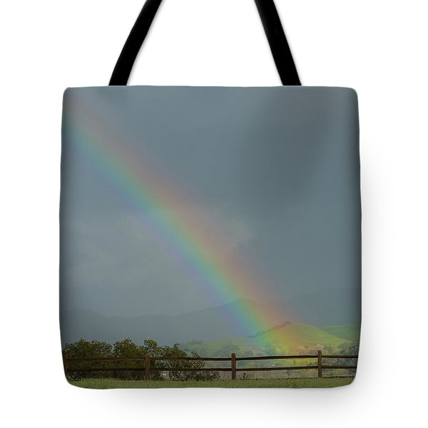 Rainbow On Valhalla Dr. Tote Bag