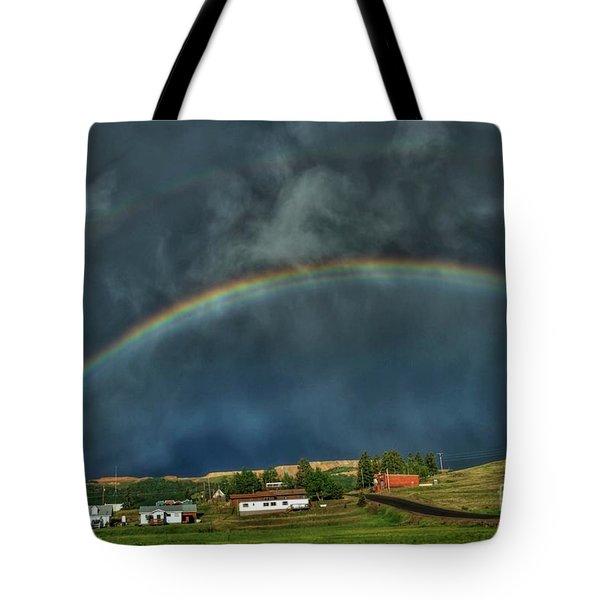 Rainbow Over Cripple Creek Tote Bag