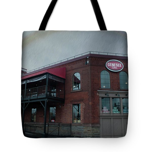 Rainbow Over Genesee Beer Tote Bag
