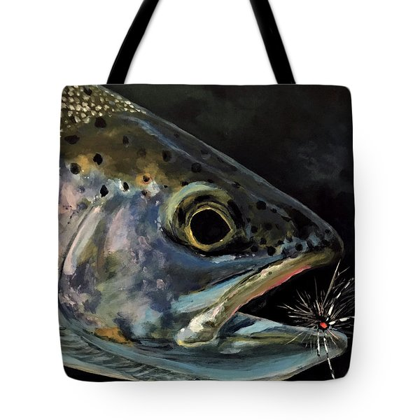 Rainbow Portrait Tote Bag