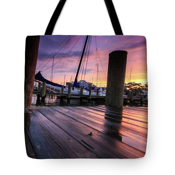 Tote Bag featuring the photograph Rainbow Reflections by Jennifer Casey