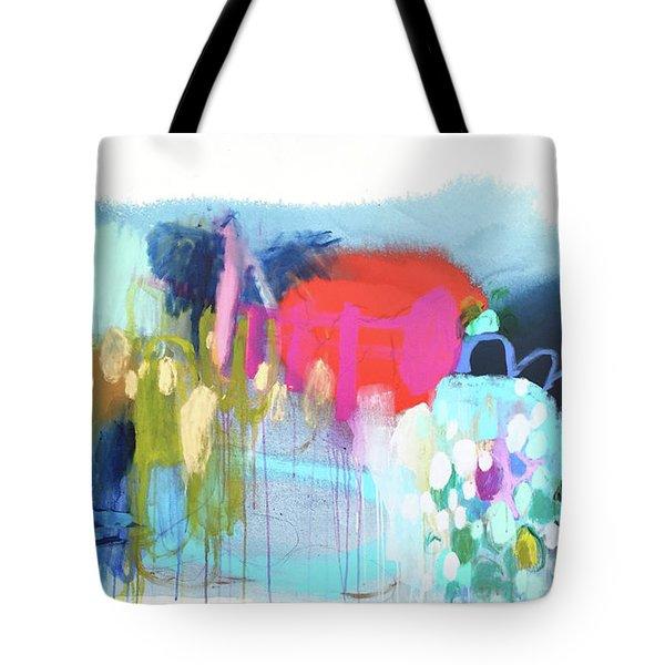 Rainbow Ride Tote Bag