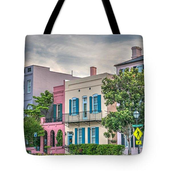 Rainbow Row II Tote Bag