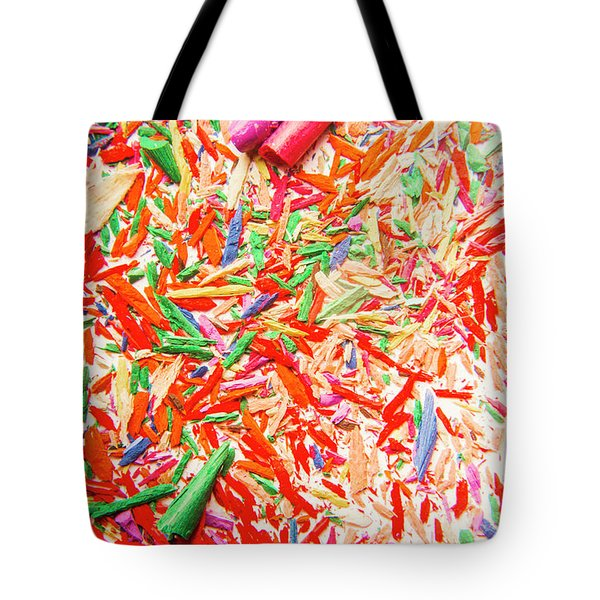 Rainbow Shatters  Tote Bag