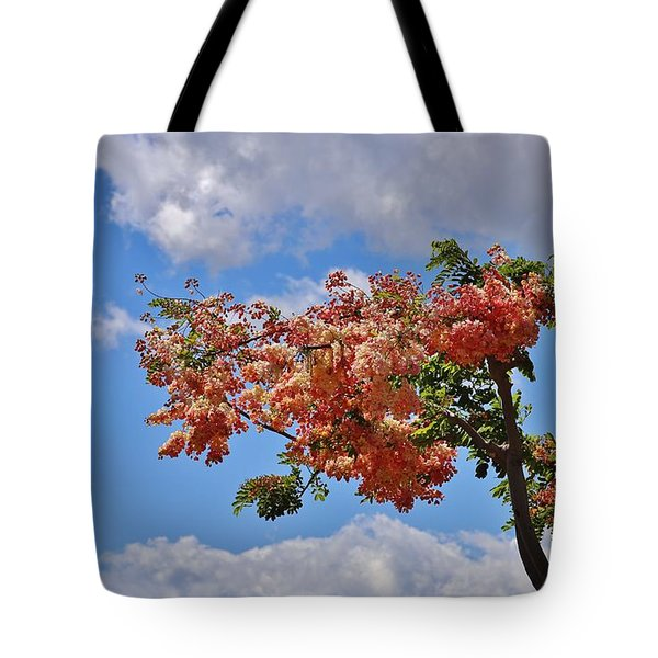 Tote Bag featuring the photograph Rainbow Shower Tree by Craig Wood