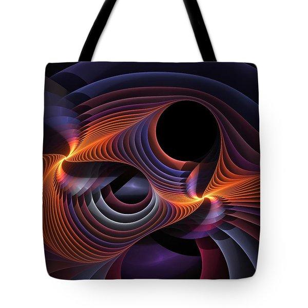 Rainbow Sonata Tote Bag