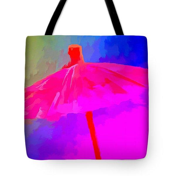 Rainbow Storm Tote Bag