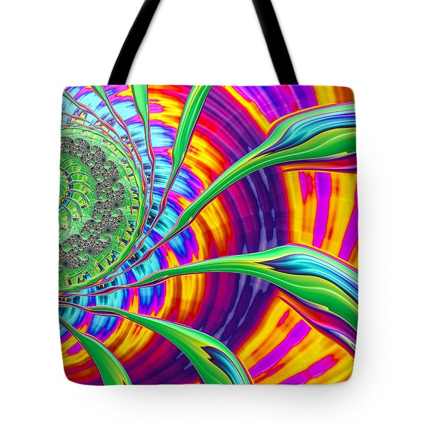 Tote Bag featuring the photograph Rainbow Sun by Ronda Broatch