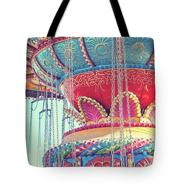 Rainbow Swings Tote Bag by Melanie Alexandra Price