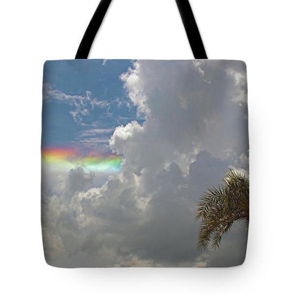 Rainbow To Nowhere Tote Bag