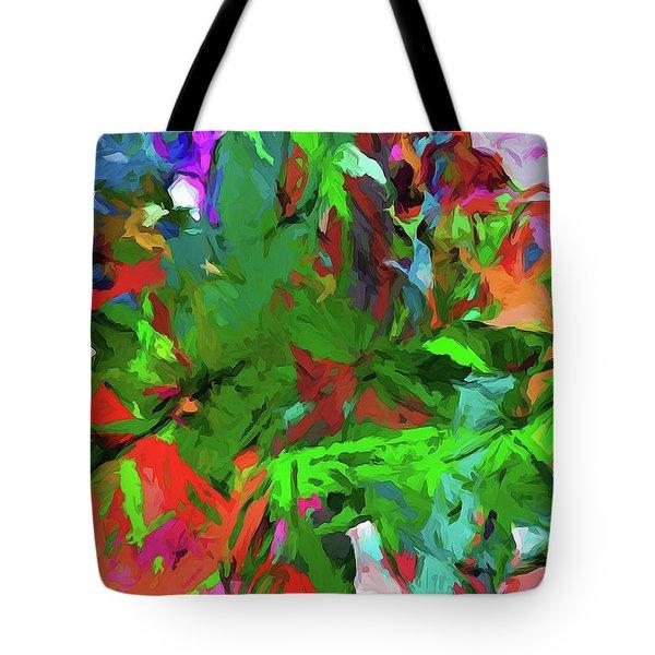 Rainbow Tropic Tote Bag