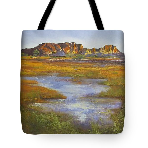 Rainbow Valley Northern Territory Australia Tote Bag