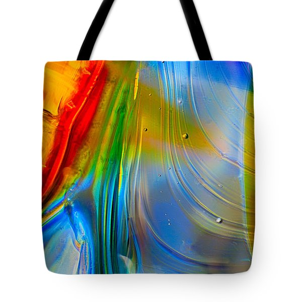 Rainbow Waterfalls Tote Bag