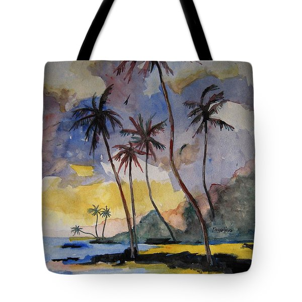 Rainbows Tote Bag by Ray Agius