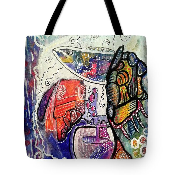 Rainbowtrout Tote Bag