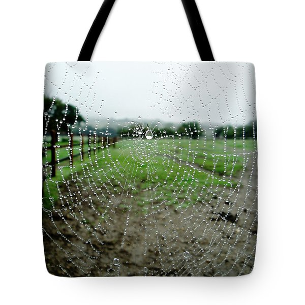 Raincatcher Web Tote Bag