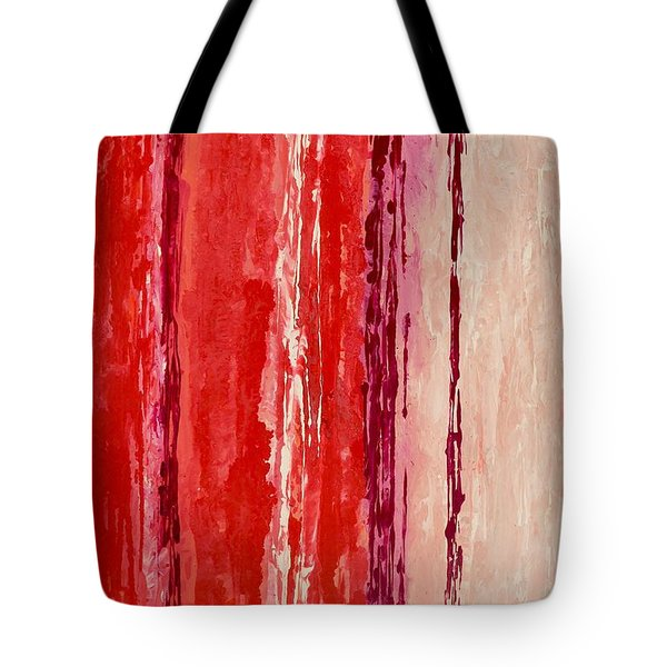 Tote Bag featuring the painting Raindance 2 by Irene Hurdle