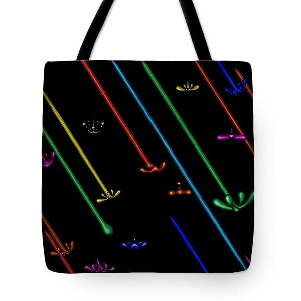 Raindance Iv - Chakra Shower Tote Bag