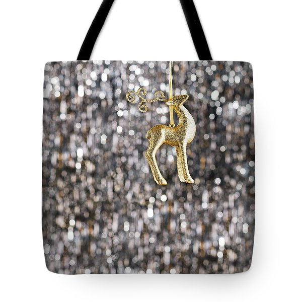 Tote Bag featuring the photograph Raindeer by Ulrich Schade