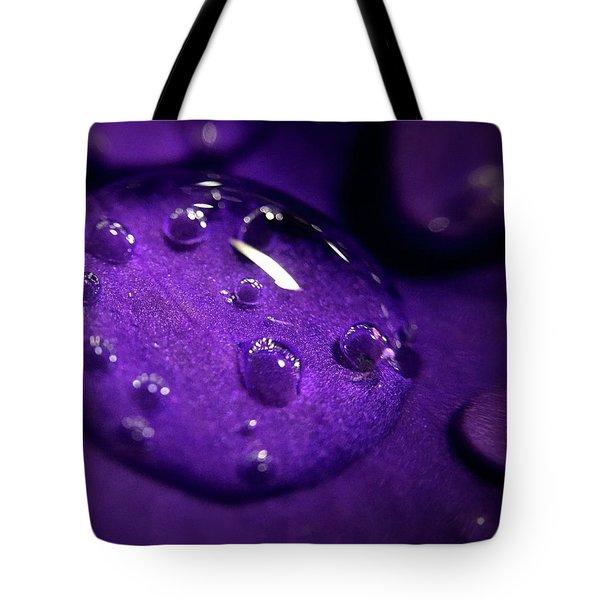 Raindrop, Prn Tote Bag