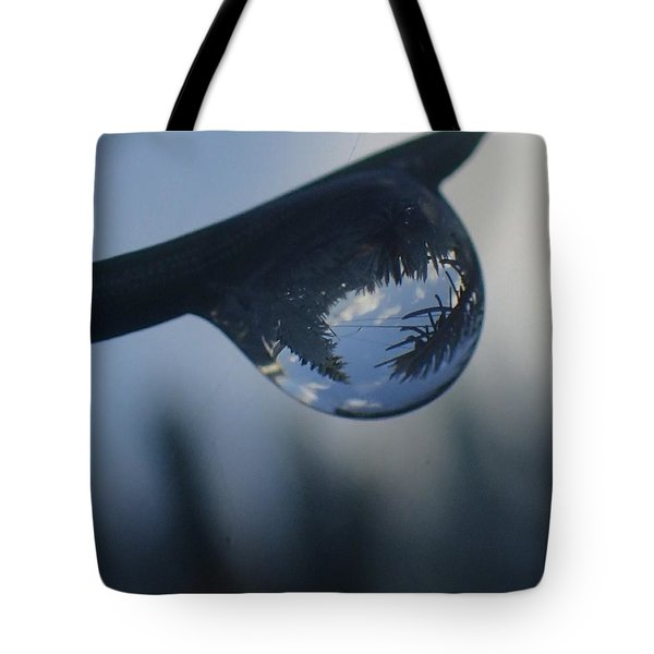 Raindrop World Tote Bag