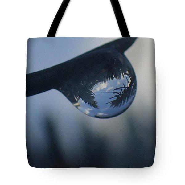 Raindrop World Tote Bag