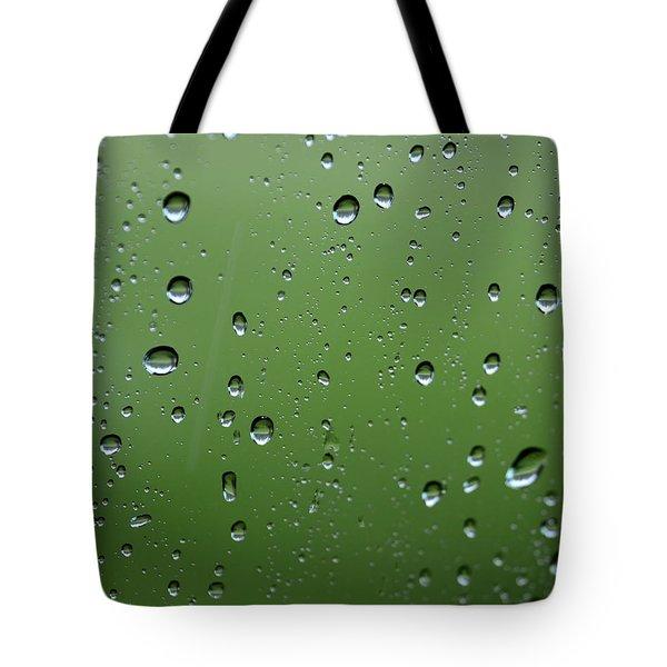 Raindrops  2 Tote Bag