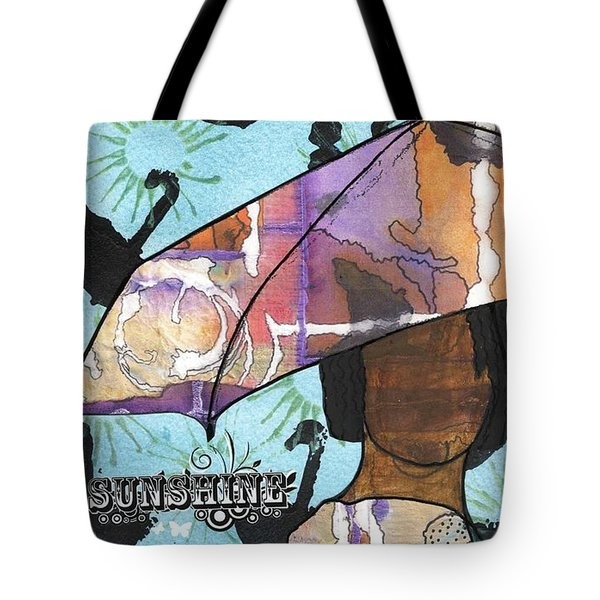 Raindrops... And Sunshine Tote Bag