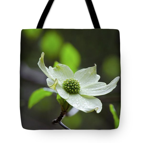 Raindrops Keep Falling Tote Bag by Debby Pueschel