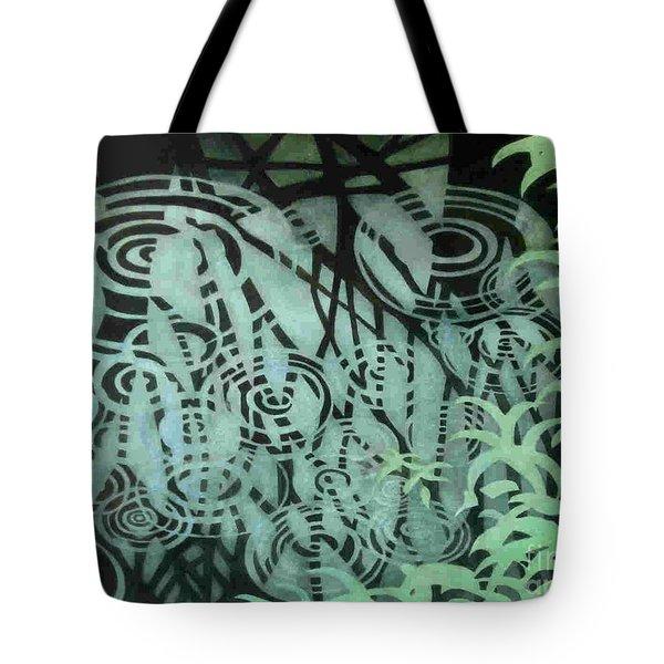 Raindrops-on-raindrops Tote Bag