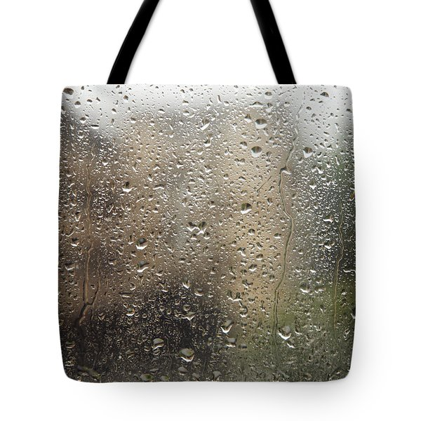 Raindrops On Window Tote Bag by Brandon Tabiolo - Printscapes