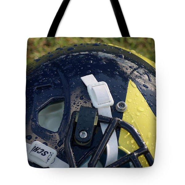Raindrops On Wolverine Hellmet Tote Bag