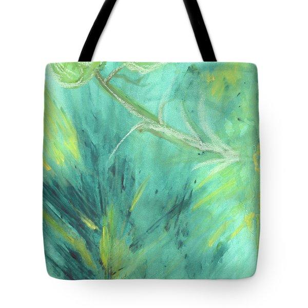 Rainforest Haze Tote Bag