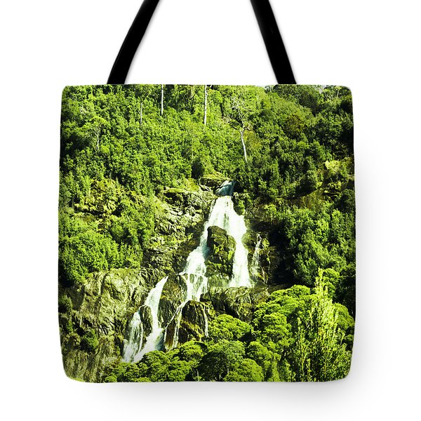 Rainforest Rapids Tote Bag