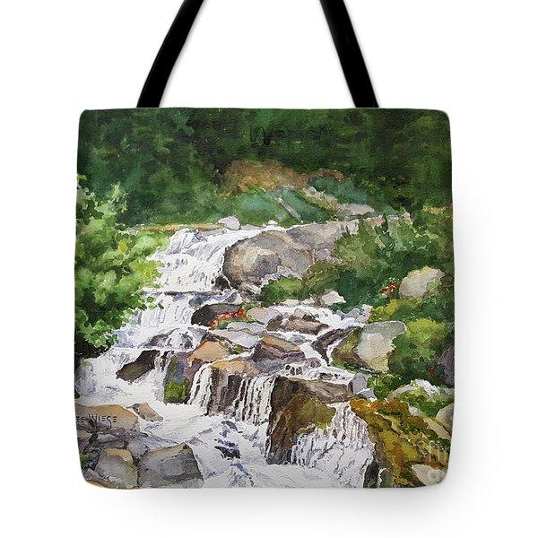 Rainier Cascades Tote Bag