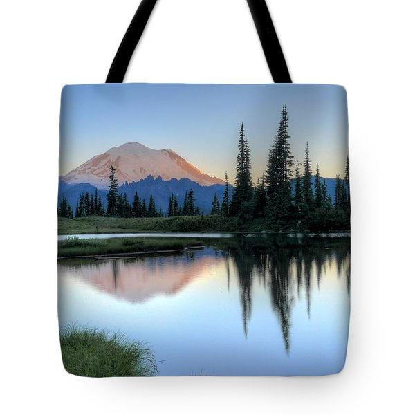 Rainier From Tipsoo Tote Bag