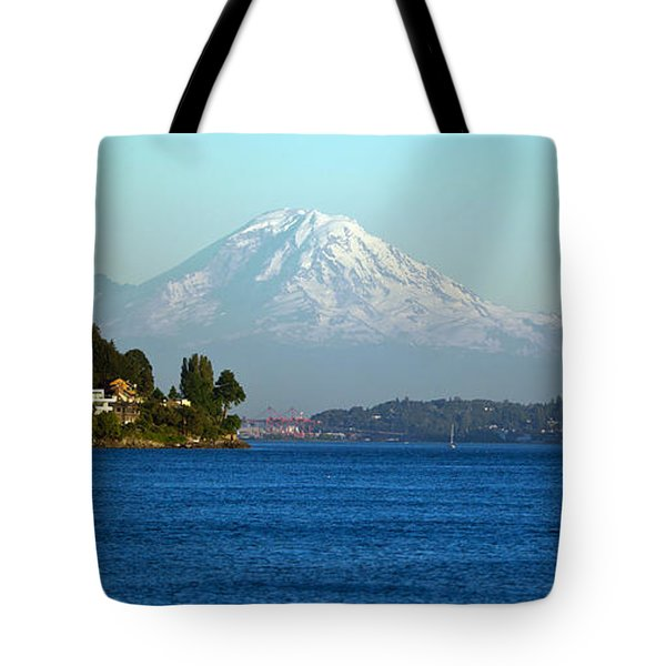Rainier Vista Tote Bag by Mike Reid