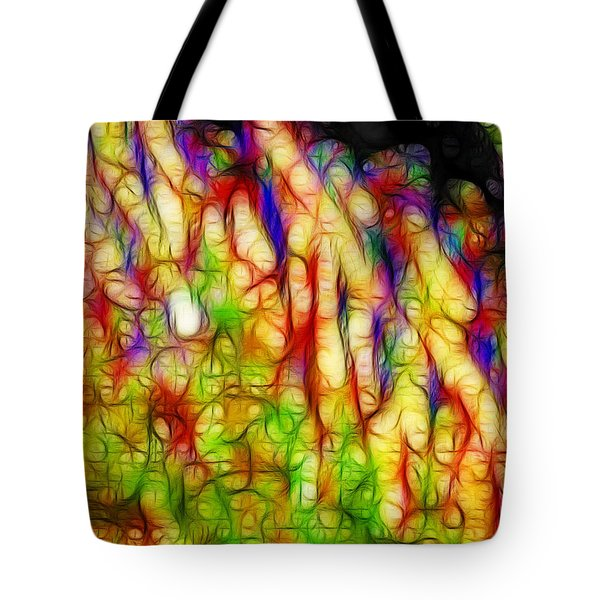 Raining Cats And Dogs Tote Bag by Wingsdomain Art and Photography
