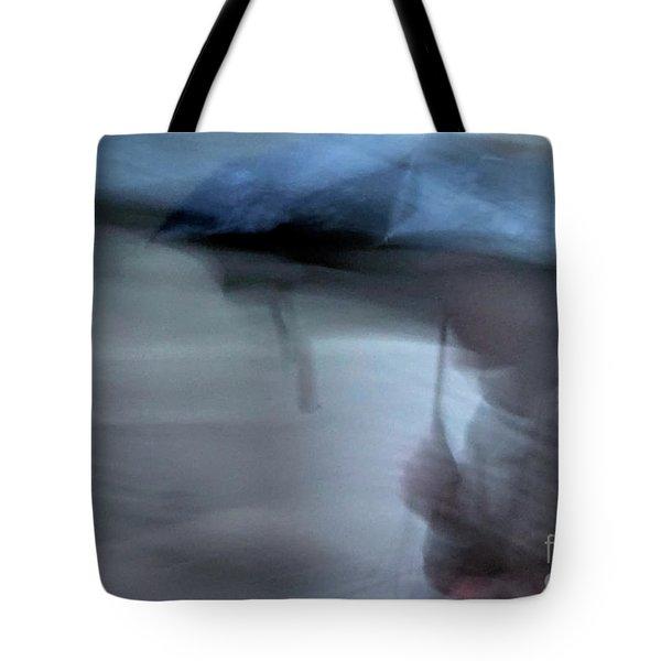 Raining In New Orleans Tote Bag by Kathleen K Parker