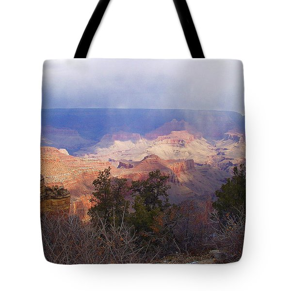 Raining In The Canyon Tote Bag by Marna Edwards Flavell