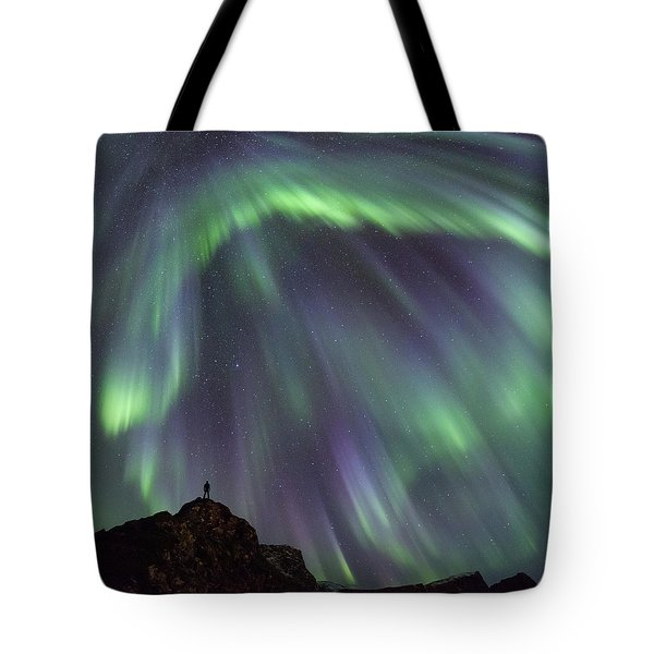 Raining Light Tote Bag