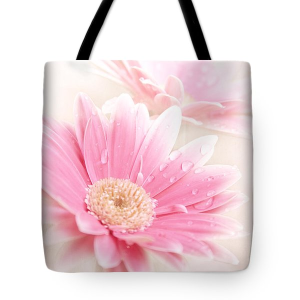 Raining Petals Tote Bag