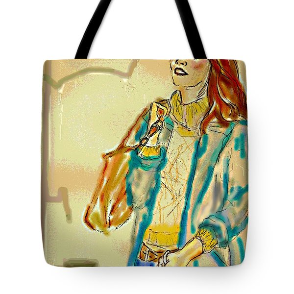 Rainny Days And Mondays Tote Bag