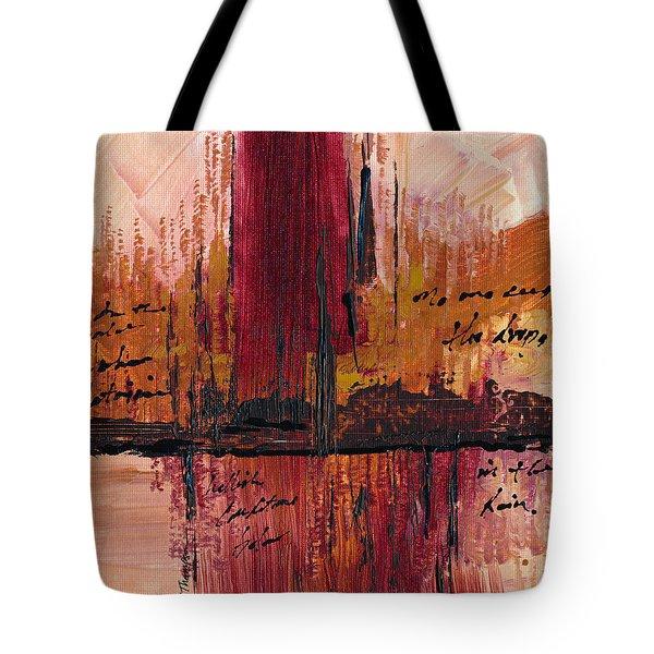 Rains Down Hell Tote Bag