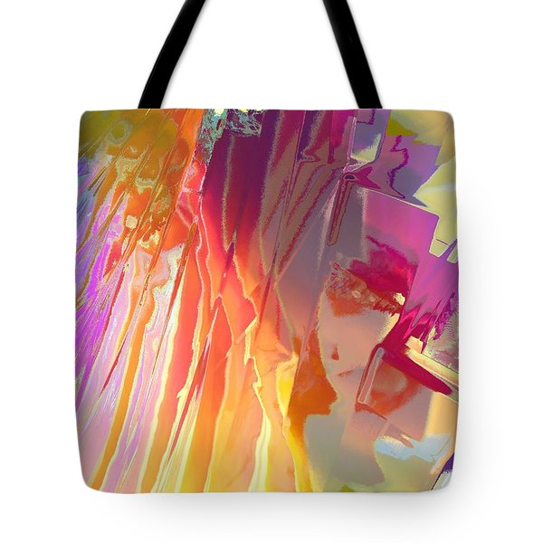 Rainshower Tote Bag by Alika Kumar